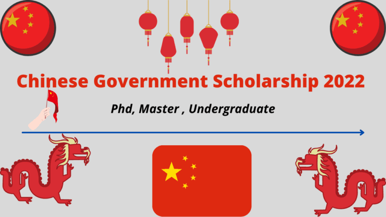 Chinese Government Scholarship 2022