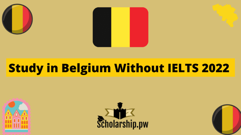 Study in Belgium Without IELTS
