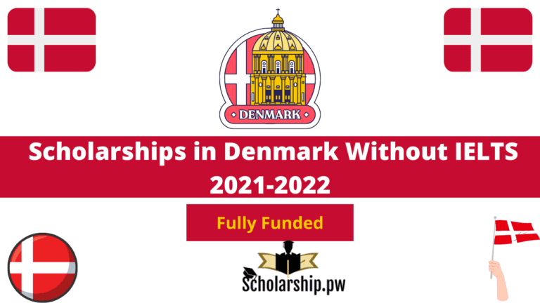 Scholarships in Denmark Without IELTS 2021