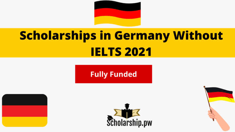 scholarships in germany without ielts